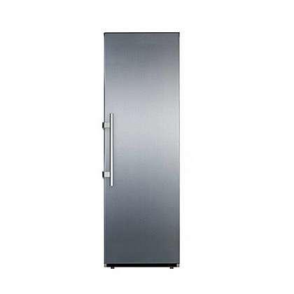 מקרר נופרוסט דלת אחד 350 ליטר נטו -כסוף דגם AMS380S