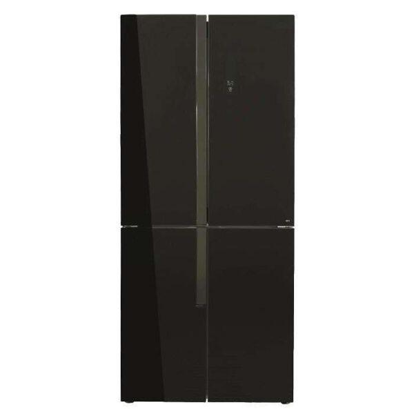מקרר 4 דלתות לקאזה דגם MRF-440WB זכוכית שחורה