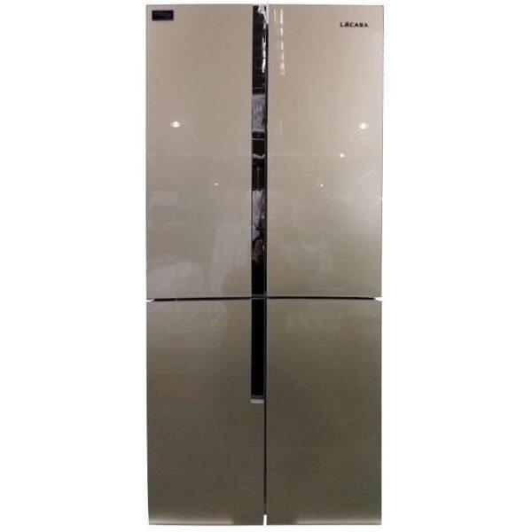 מקרר 4 דלתות לקאזה דגם MRF-440WG זכוכית זהובה